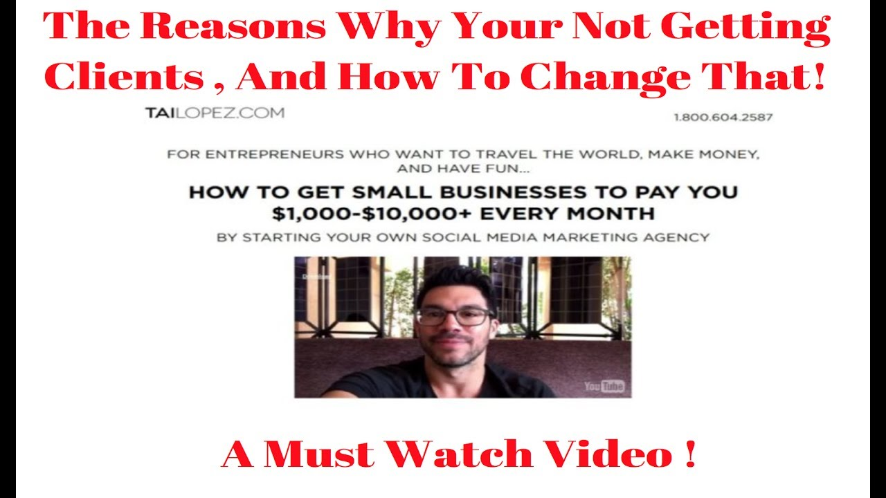 The Ultimate Guide To Tai Lopez Affiliate