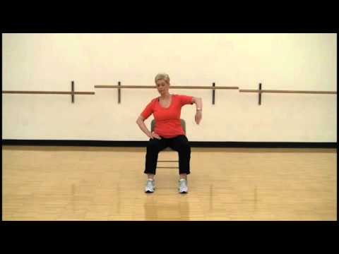 Smart Moves Chair Aerobics using legs and arms - YouTube