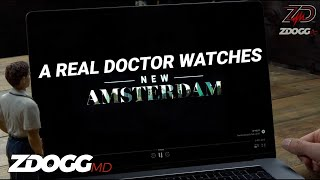 "A Real Doctor Watches ""New Amsterdam"" 