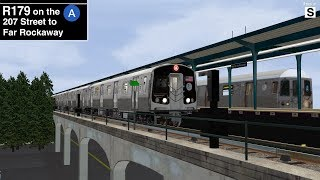 OpenBVE Exclusive: R179 C Train from 168 Street to Euclid Avenue