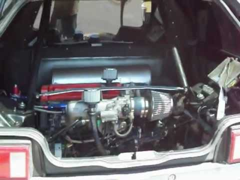 Mid engine RWD Honda Civic hatch conversion.MOV