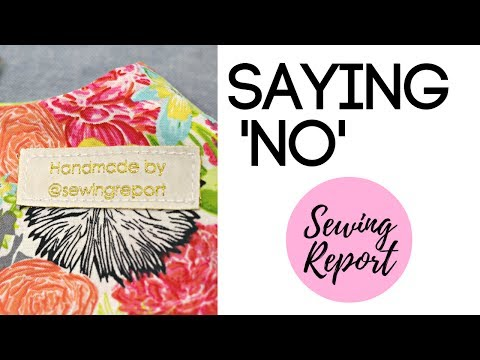 Get Tons of SEWING Requests? How to Say No! | LIVE SHOW | SEWING REPORT