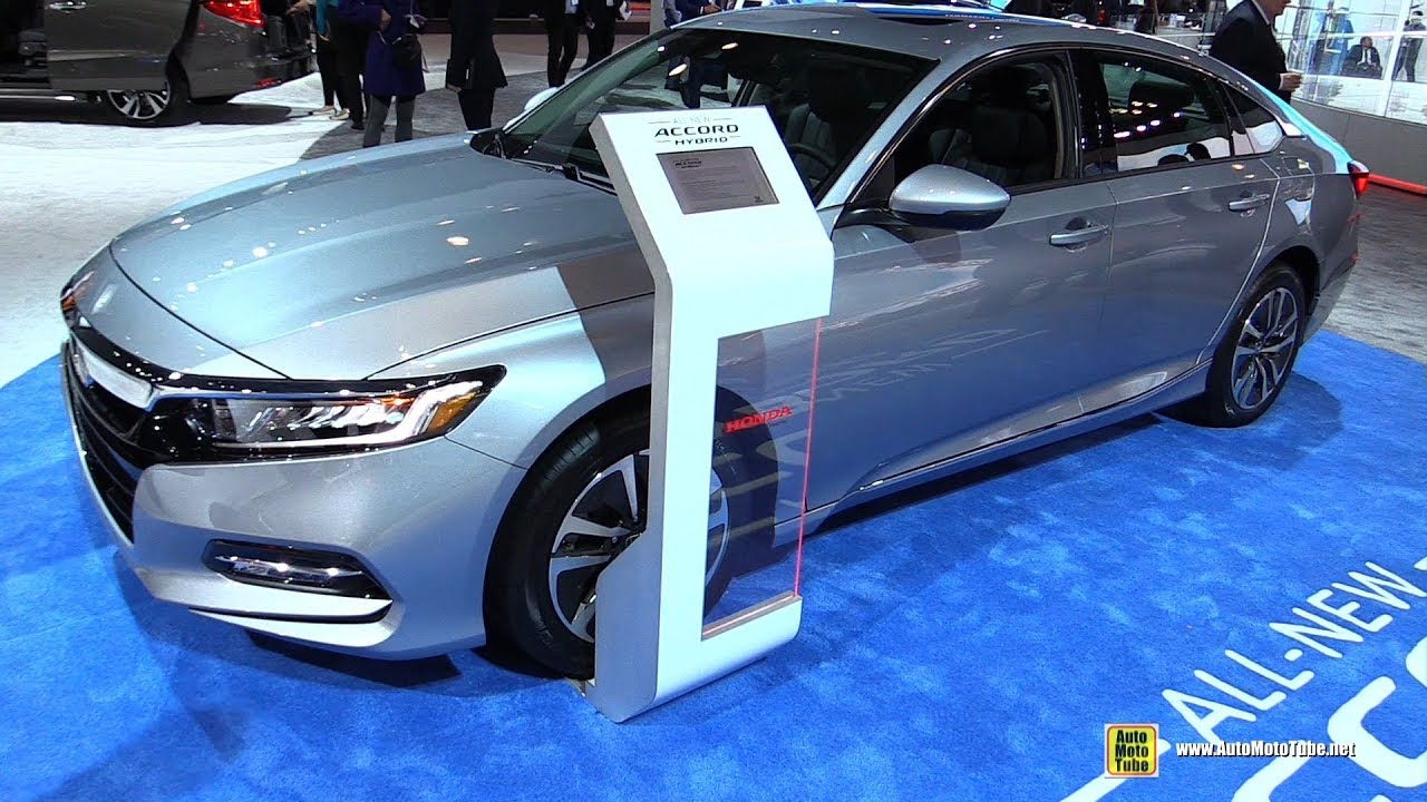 2019 honda accord hybrid exterior and interior walkaround 2018 new york auto show