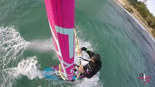 Golfo Aranci windsurf winter training
