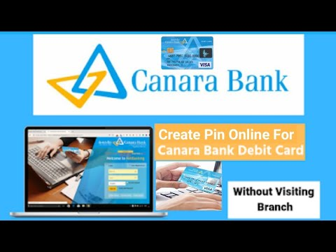 How To Generate Online Canara Bank Atm Card Pin | How To Change Canara Bank Atm Pin Online