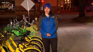 City manager warns bike share companies to clean up mess
