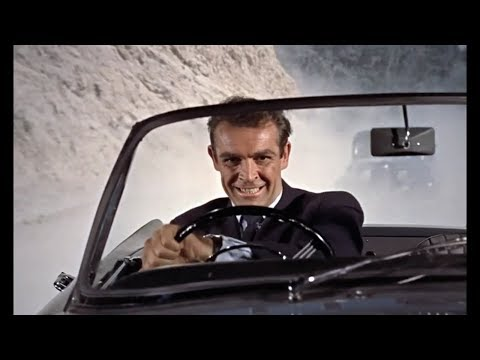 Dr. No Car Chase (with James Bond Theme)