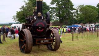 Fowler Ploughing Steam Engine Vintage Agricultural Machinery Club Rally Strathmiglo Fife Scotland