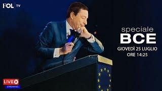 La BCE in diretta – Segui la conferenza di Mario Draghi live