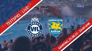LIVE: VfL Lübeck-Schwartau vs. HC Empor Rostock