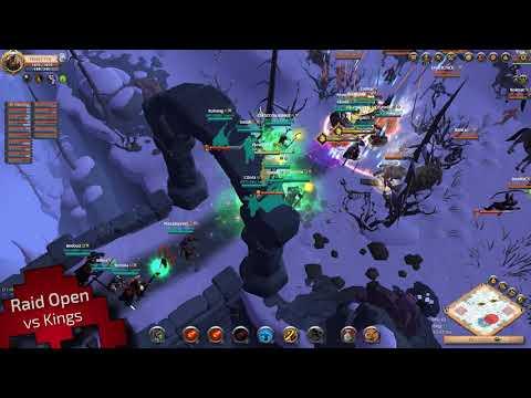 Vidéo  War Legend Albion Online [Open] [GvG] [Gank] [Transport]