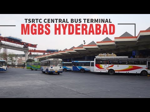 India's Number One Bus Terminal, MGBS, Hyderabad, Telangana  | TSRTC