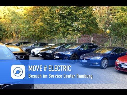 Besuch im Service Center Hamburg mit meinem Tesla Model S75