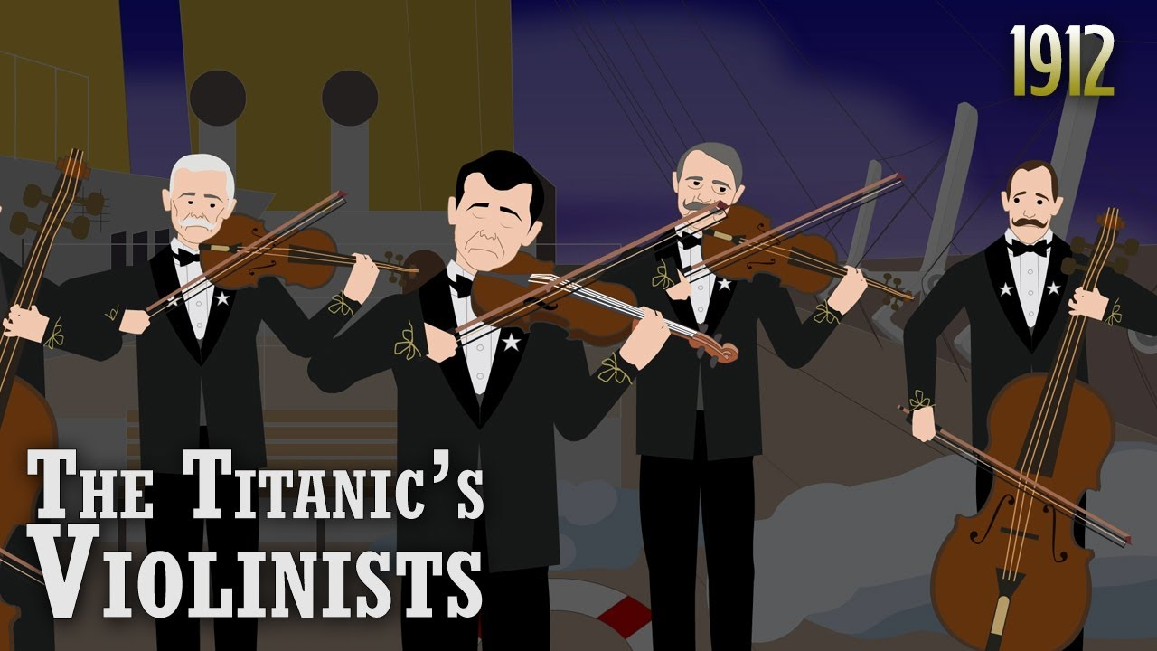 Did the Titanic's Violinists keep playing while the ship sank?