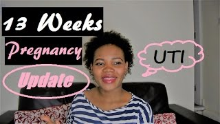 13 Weeks Pregnancy Update | UTI Infection | Midwife's Appointment | Baby No 3