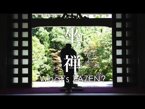 What's Japan?- Zazen (坐禅)
