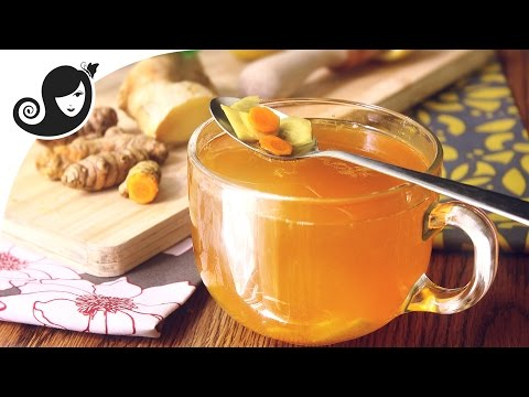 Freedom in a Cup of Turmeric Tea with Ginger & Lemon - Cleansing Recipe, Musings & Inspiration