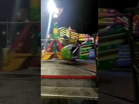 185ª FESTA DE SANTA MARIA MADALENA/PARQUE LIMA, BRINQUEDO SKING DANCE
