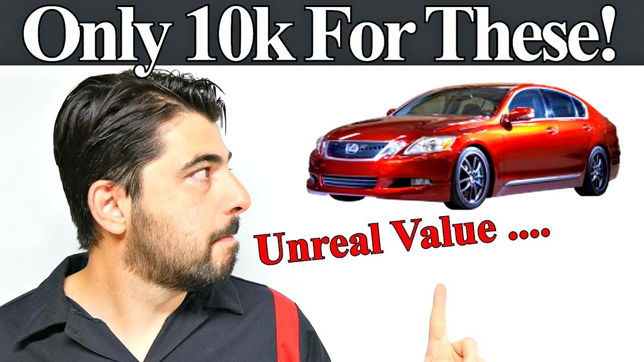 top 5 luxury cars under $10,000 unbelievable value for 10k musttop 5 luxury cars under $10,000 unbelievable value for 10k must watch