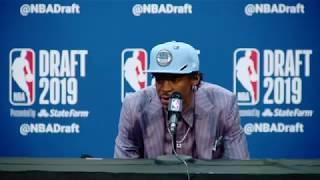 Ja Morant Press Conference   2019 NBA Draft