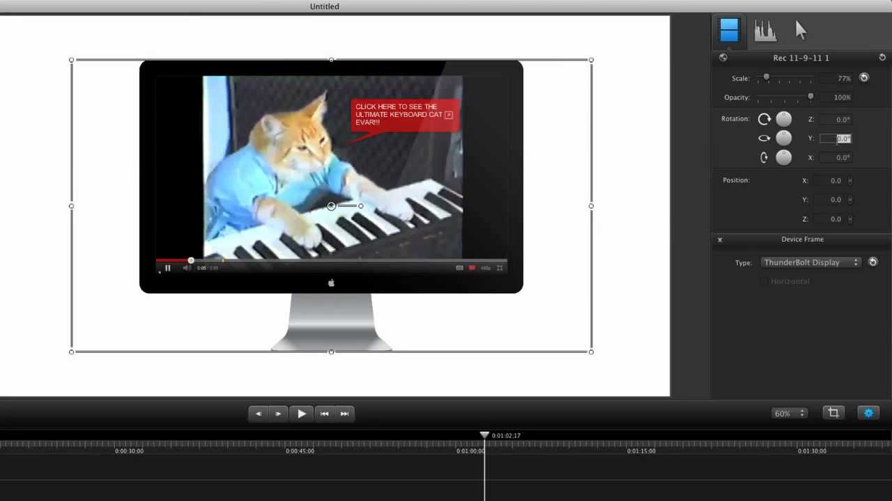 Device Framing Around Video | Camtasia for Mac 2 mini demo - YouTube