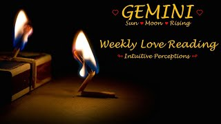 GEMINI - AUGUST 19-25 2018 LOVE TAROT READING