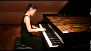W.A.Mozart  Piano Sonata  G-dur KV 283 3rd  movement  [ Marika Suzuki ]