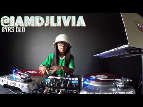 This is for the Raza! DJ Livia 8yrs old