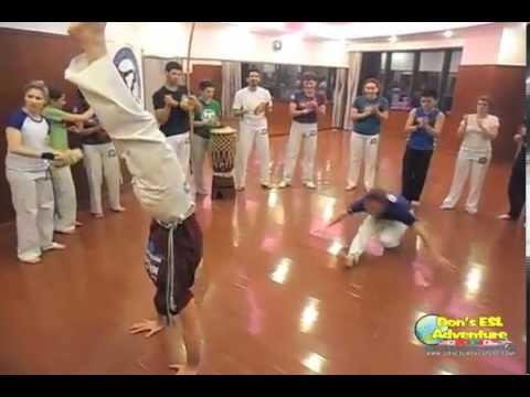 Awesome Energy at Capoeira Mandinga in Shanghai, China!