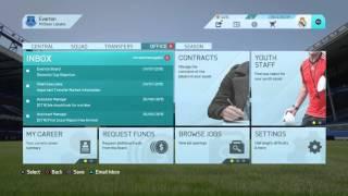 FIFA 16 Career Everton Part 1(Creating the team)