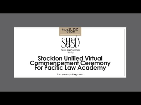 Pacific Law Academy Virtual Commencement Ceremony