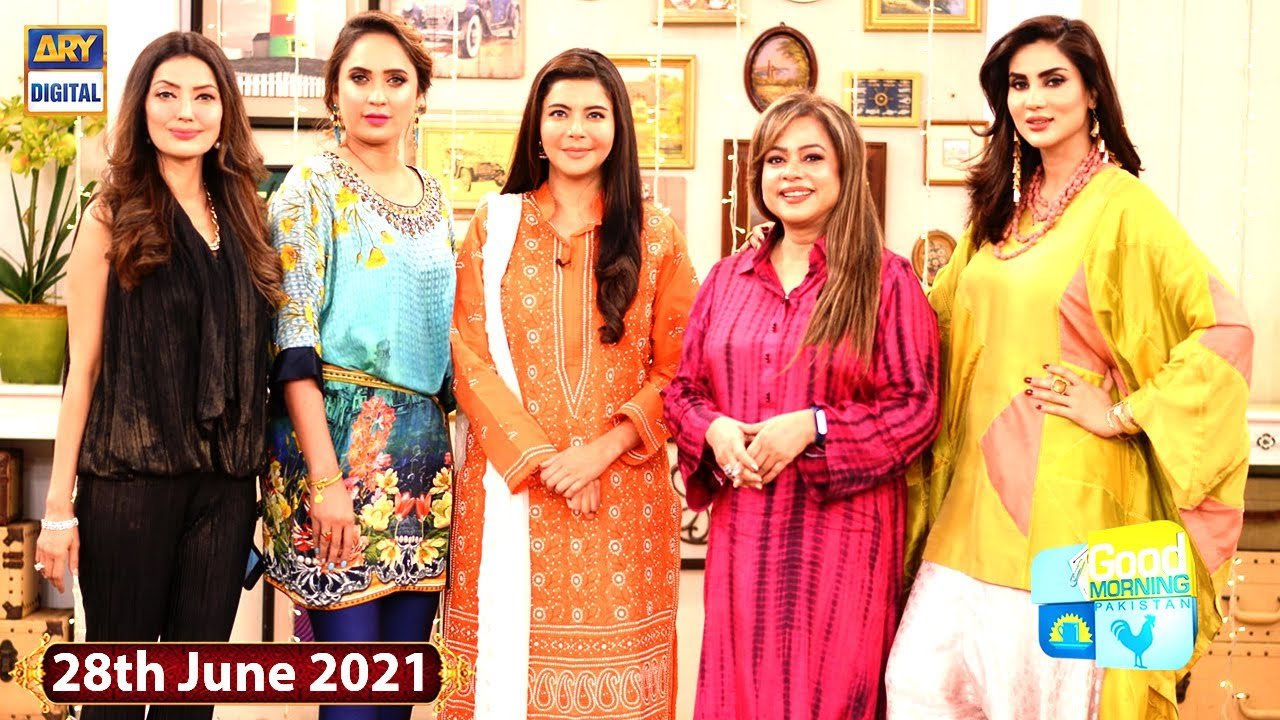 Good Morning Pakistan – Celebrities' Hair & Skin Care Special Show - 28th June 2021