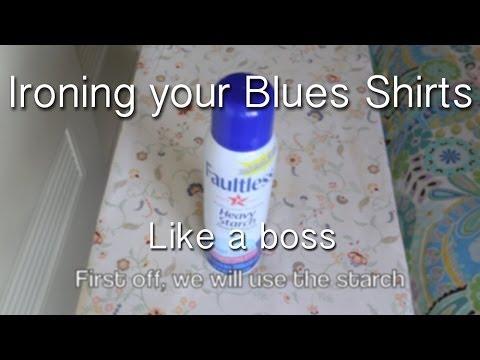 Ironing Your Blues Shirt - Military Monday