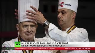 Muere el chef Paul Bocuse, creador de la 'nouvelle cuisine' francesa