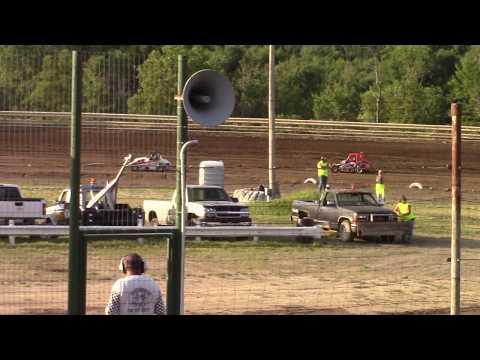 Hummingbird Speedway (7-13-19): Young Guns Jr Sprints - Stock Class Heat Race