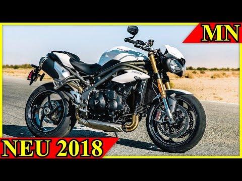 Triumph Speed Triple 2018 - Neues Bike in alter Kleidung? | Motorrad Nachrichten