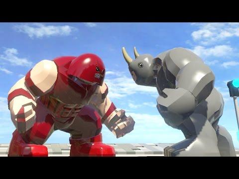 marvel lego juggernaut fight