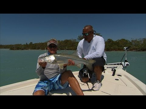 Key Largo Florida Fishing For Backcountry Redfish And Snook