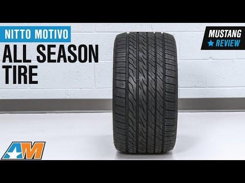 Nitto Motivo Review >> 1979 2018 Mustang Nitto Motivo All Season Tire 17 20