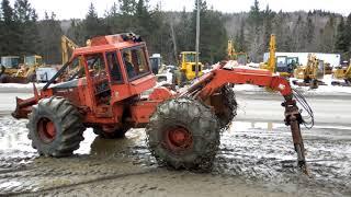 Timberjack Skidder 380