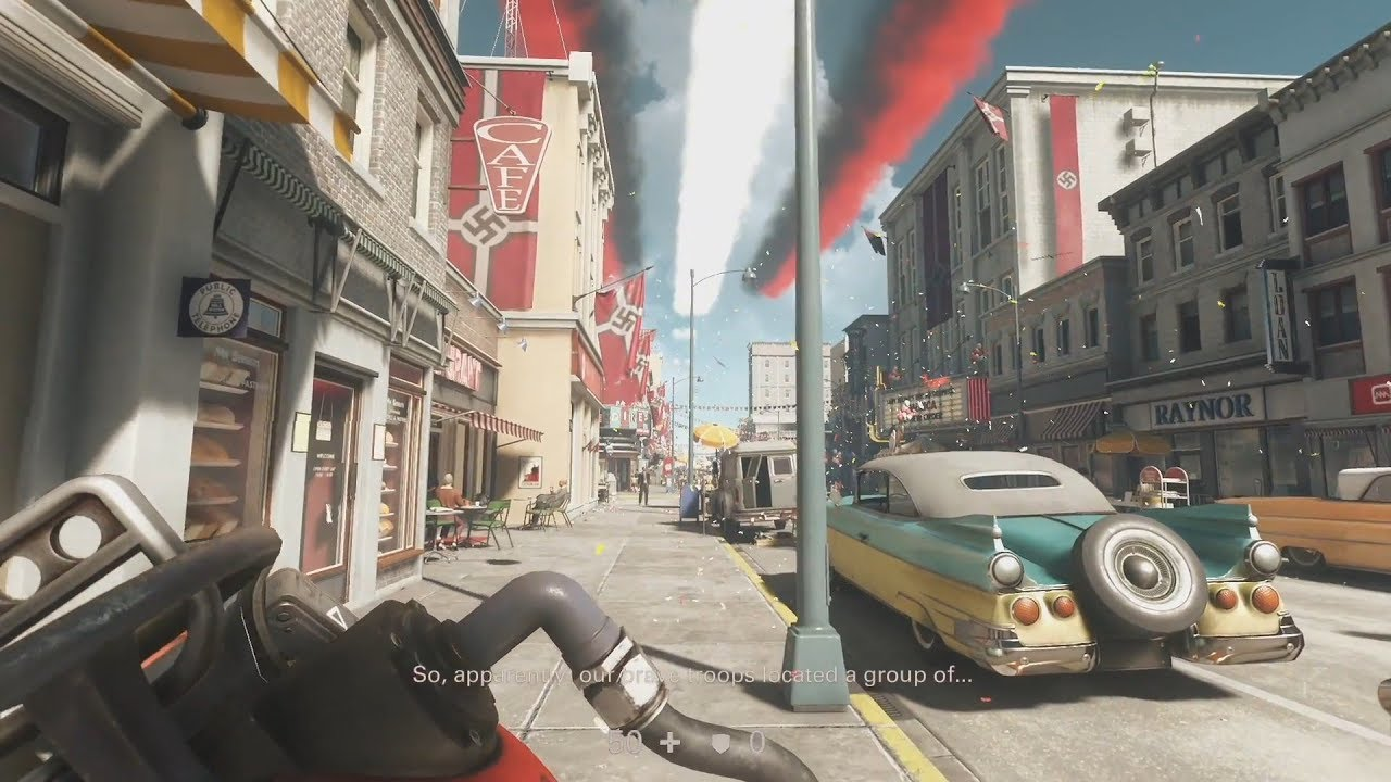 Wolfenstein  The New Colossus Cars