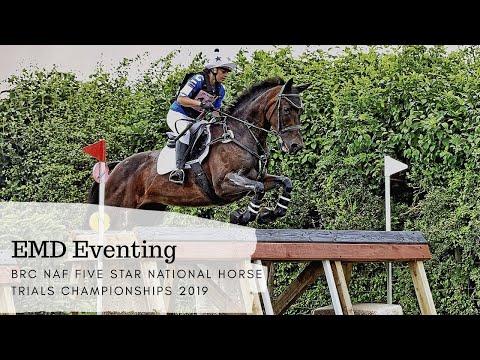 BRC NAF Five Star National Horse Trials Championships 2019 - EMD Eventing