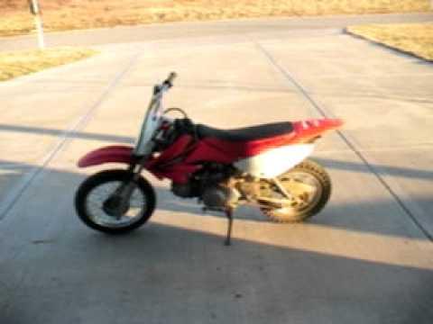 Honda crf 70 dirt bike - YouTube