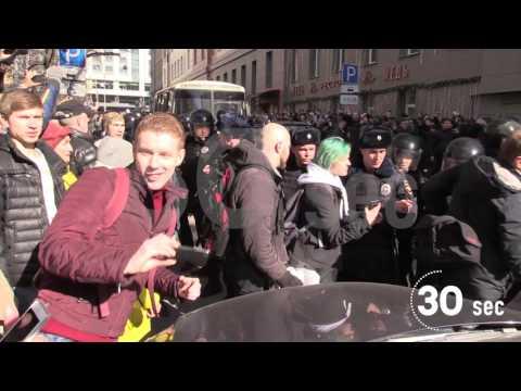 Проект 60sec №677. Задержание Навального