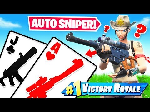 AUTO SNIPER *21* Blackjack LOOT Game Mode in Fortnite Battle Royale