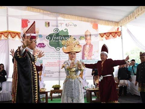 Festival Muwaghei Lampung Timur Rangkul Persaudaraan Dari Beragam Etnis