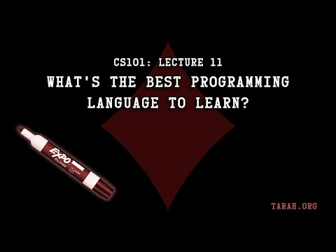 CS101: What's the best programming language to learn? (Lecture 11)