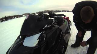Angry Ontario Arctic Cat Rider