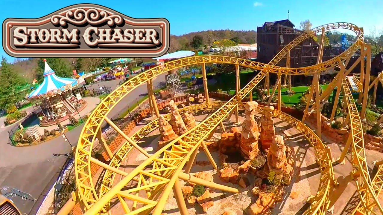 Storm Chaser On Ride POV - Paultons Park