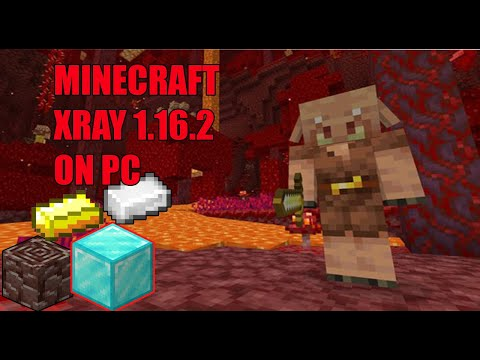 Minecraft Xray Pack 1.16.2 Tlauncher